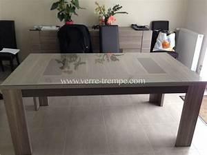 Verre Sur Mesure Pour Table : verre tremp sur mesure prix verre tremp sur mesure ~ Dailycaller-alerts.com Idées de Décoration