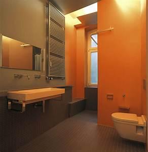Modernes Badezimmer Galerie : modernes badezimmer in warmen erdt nen ~ Markanthonyermac.com Haus und Dekorationen
