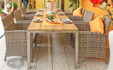 gartenmöbel set polyrattan gartenm 246 bel set aus rattan galerie kwozalla