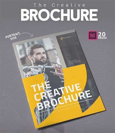 creative indesign brochure templates ads