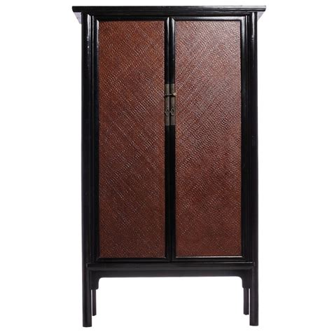 antique chinese woven armoire at 1stdibs