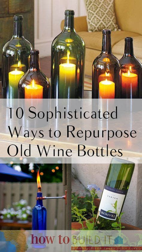 ideas   wine bottles  pinterest