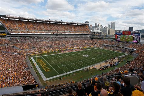 pittsburgh steelers hope  build  sign  seating