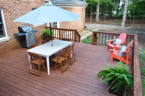 stain  seal  deck young house love