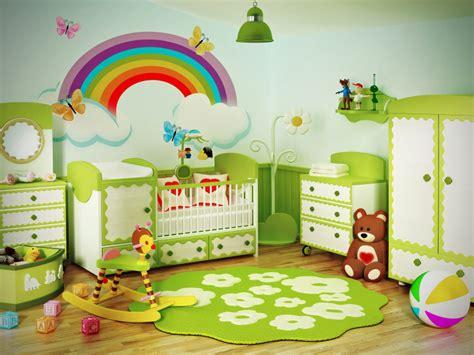 Kinderzimmer Gestalten Regenbogen by Wandgestaltung Im Babyzimmer Style Your Castle