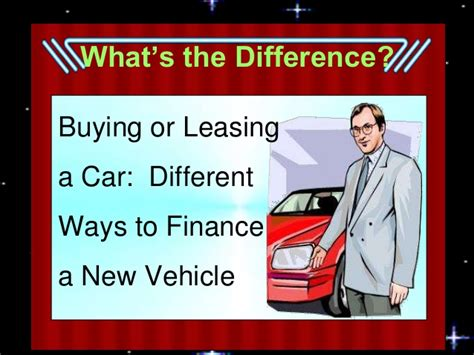 buying a car vs leasing buying versus leasing a car