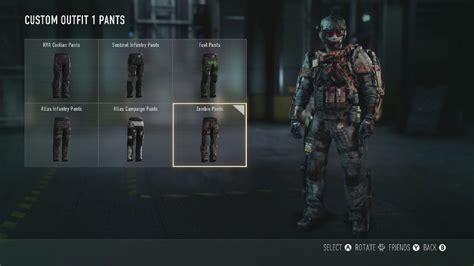 call  duty advanced warfare zombie pants