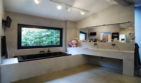 Badezimmer Modern Beton by B 228 Der Aus Beton Material Raum Form In Hamburg