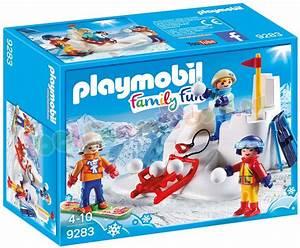 playmobil sneeuwballengevecht 9283 uitverkocht farm