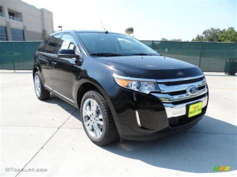 2012 Black Ford Edge Limited #53980619 Gtcarlotcom