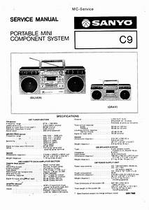 Sanyo C9 Service Manual
