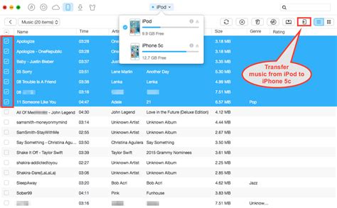 how to transfer photos from ipod to iphone how to transfer from ipod to iphone 5c on mac