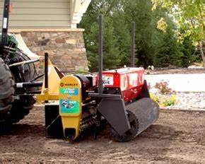Power Seeder For Use With Harley Rake Tractor Tm