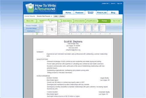 How To Spell Resume Correctly In Word by Resume Builder Easily Build A Resume That Demands Attention