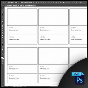 Free Storyboard Templates For Photoshop  Psd