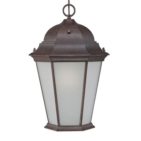 shop acclaim lighting richmond 19 5 in burled walnut solar