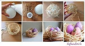 Bricolage Decoration A Faire Soi Meme : id e d co pour p ques faire un nid en raphia et s 39 en ~ Farleysfitness.com Idées de Décoration