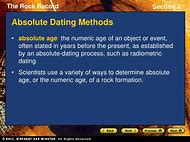 what is the main difference between relative dating and absolute dating