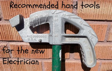 recommended hand tool list   apprentice electrician dengarden