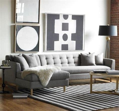 canapé pour salon 41 images de canapé d angle gris qui vous inspire