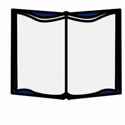 Clip Books Open Clipart Animated Template Cliparts