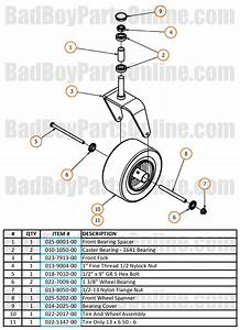 2017 Maverick Front Fork Parts And Schematic