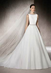 25 best ideas about boat neck wedding dress on pinterest With boat neck wedding dress