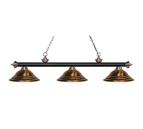 antique pool table light z lite stepped antique copper pool table light billiardlux