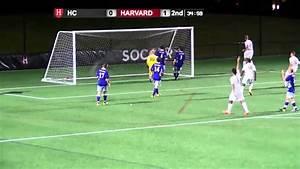 Men's Soccer: Harvard defeats Holy Cross - YouTube