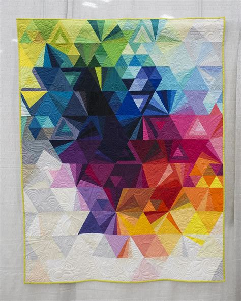 fresh lemon quilts tessellation 3 by nydia kennley quiltcon 2015 photo by