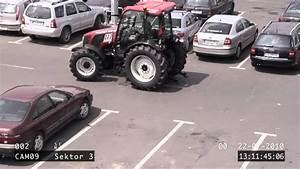 Steuer Traktor Berechnen : frau parkt mit einen traktor vor einkaufcenter und baut unfall youtube ~ Themetempest.com Abrechnung
