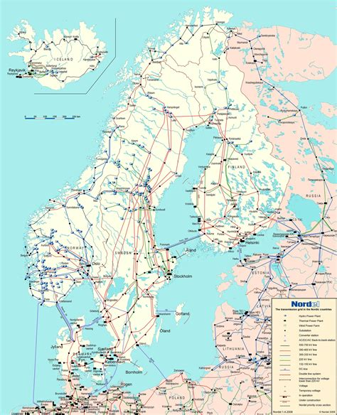 energy network   northern countries