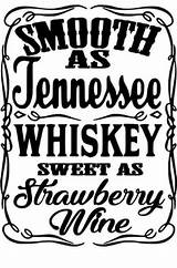 Whiskey Svg Tennessee Smooth Cricut Wine Silhouette Strawberry Sweet Vinyl Cut Projects Cameo Template Decals Designs Shirts Pictured Receive Quotes sketch template