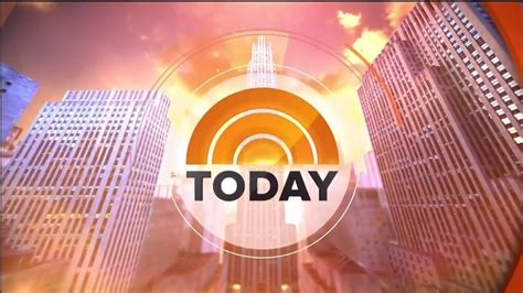 NBC Today Show Open - May 2015 - YouTube