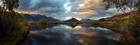 zealand panoramic landscape photographs