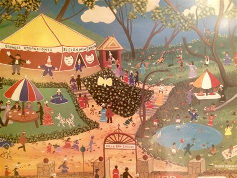 el circo  colombian artist roman roncancio modernism