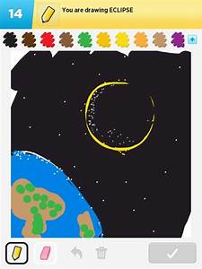 Eclipse Drawings - How To Draw Eclipse In Draw Something