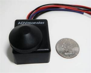 Rotary Led Dimmer With High Beam Bypass