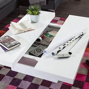 Couchtisch Mit Schublade Weiß : couchtisch mit schublade wei hochglanz couch sofa wohnzimmer lounge tisch neu ebay ~ Whattoseeinmadrid.com Haus und Dekorationen