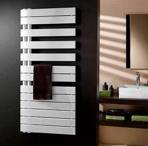 Chauffage Infrarouge Salle De Bain : radiateur design et s che serviette pour la salle de bain ~ Dailycaller-alerts.com Idées de Décoration