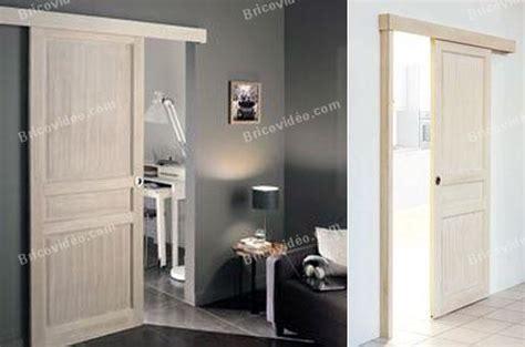 installation thermique comment transformer une porte en porte coulissante