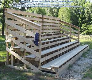 4-Level Wooden Bleachers Plans - Airplanes and Rockets