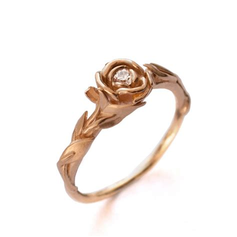 10 leaf adorned rings from etsy that you will intimate weddings small wedding