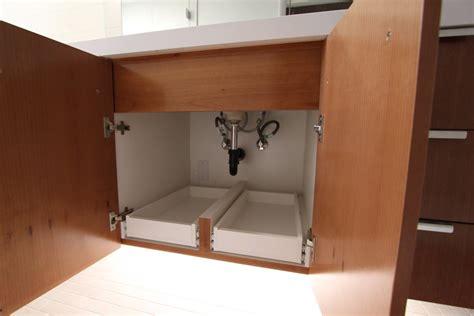 under cabinet shelving bathroom bathroom under cabinet storage with help from the kitchen