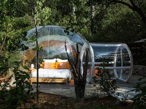 chambre bulle dans la nature bulles des bois dormir dans une bulle nuit insolite