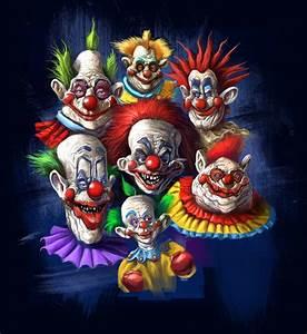 Killer Klown T-shirt design by Grimbro on DeviantArt