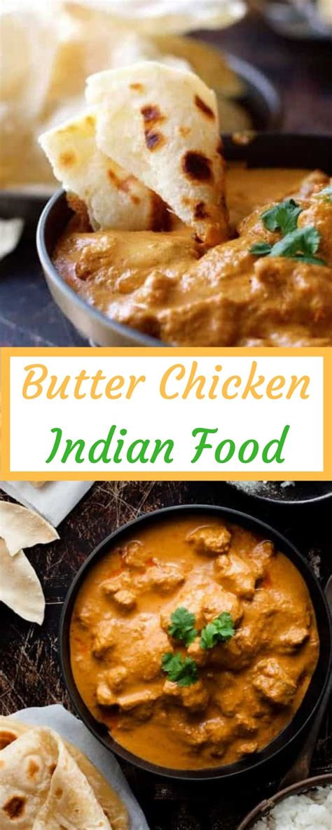 Serve with rice and naan. Butter Chicken Indian Food | Salty Sweet Recipes