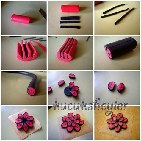 polymer clay flower tutorial tutoriales clay flowers fimo and polymer clay flowers