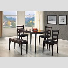 26 Dining Room Sets (big And Small) With Bench Seating (2019