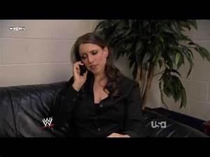 wwe raw January 19 2009 Stephanie Mcmahon and Randy Orton ...